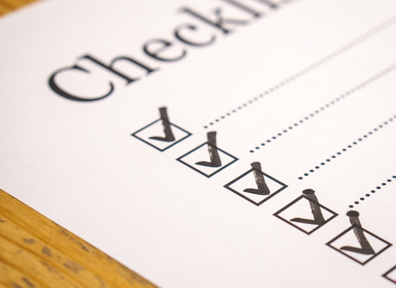 checklist featured image
